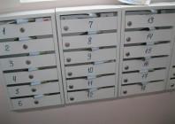 почтовые ящики с номерами