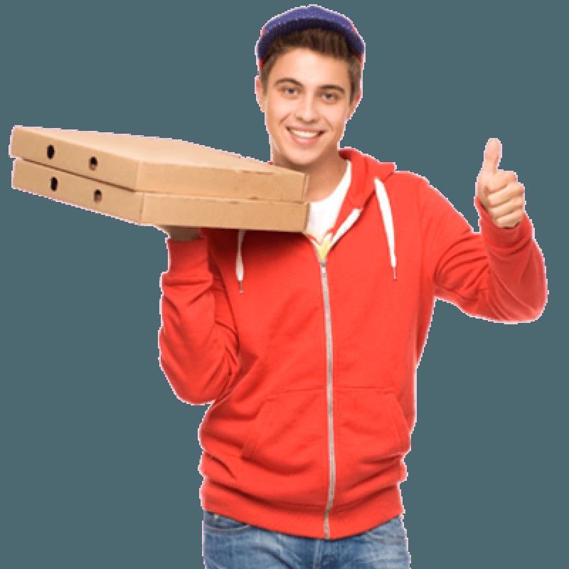 забор еды (покупка) и доставка до нужного адреса